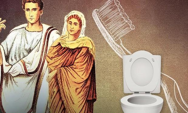 Những sự thật khó tin về cuộc sống của người La Mã cổ: đánh răng bằng nước tiểu, ăn no quá nôn luôn tại bàn - Ảnh 2.