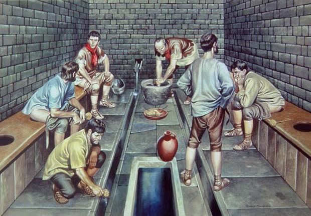 Những sự thật khó tin về cuộc sống của người La Mã cổ: đánh răng bằng nước tiểu, ăn no quá nôn luôn tại bàn - Ảnh 6.