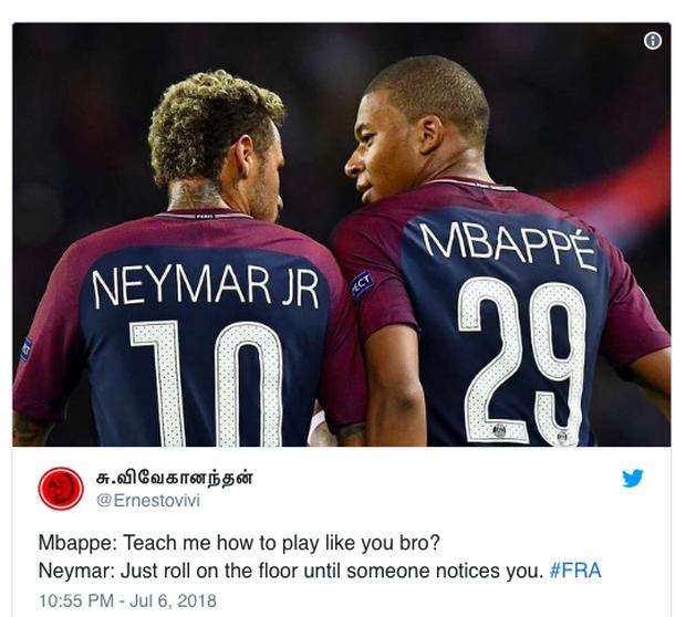 Pele mới Mbappe bị chỉ trích vì ăn vạ giống Neymar - Ảnh 3.