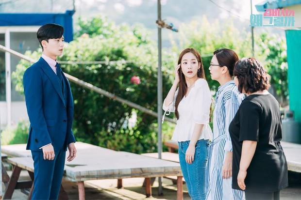 Thư Ký Kim: Phản ứng trái ngược của cặp đôi Park - Park và ekip sau cảnh hôn tủ quần áo - Ảnh 26.