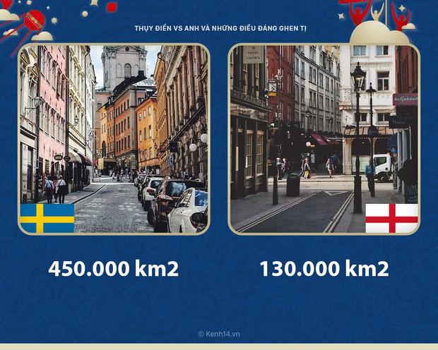 Thụy Điển vs Anh: Dù thắng hay thua thì sư tử Anh vẫn phải ghen tỵ với Thụy Điển vì những điều này - Ảnh 1.