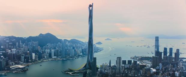Skyscraper: Phiên bản siêu anh hùng khiếm khuyết thử thách tiền đình khán giả - Ảnh 2.