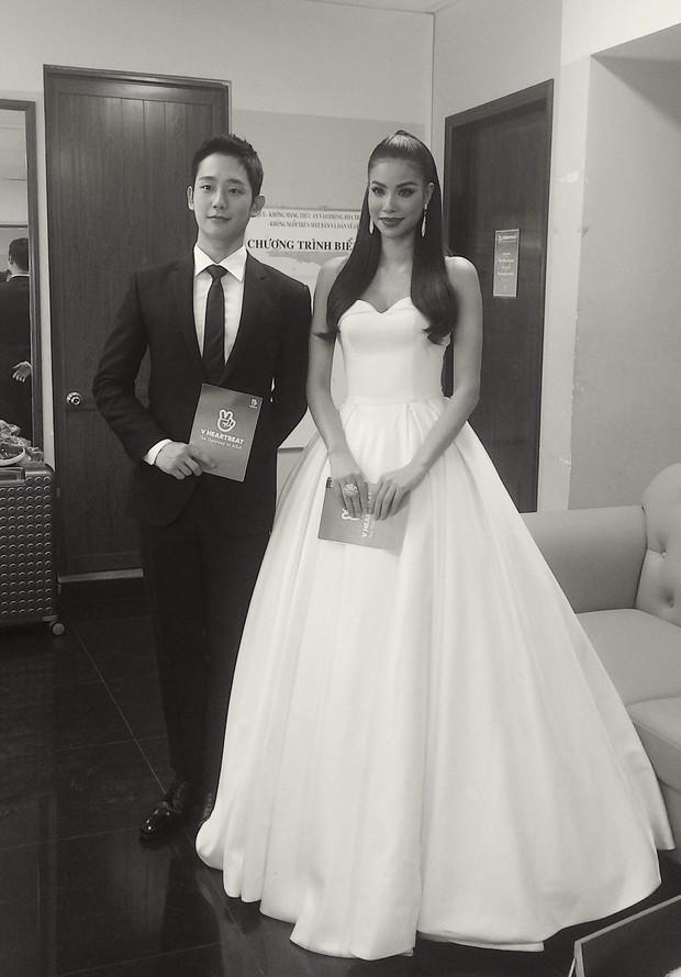 Đều là mỹ nam mỹ nữ, nhưng Jung Hae In và Phạm Hương bỗng bớt đẹp đôi chỉ vì chiều cao chênh lệch - Ảnh 2.