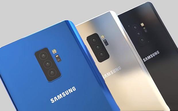 Samsung Galaxy S10+ sẽ có đến... 5 camera? - Ảnh 1.