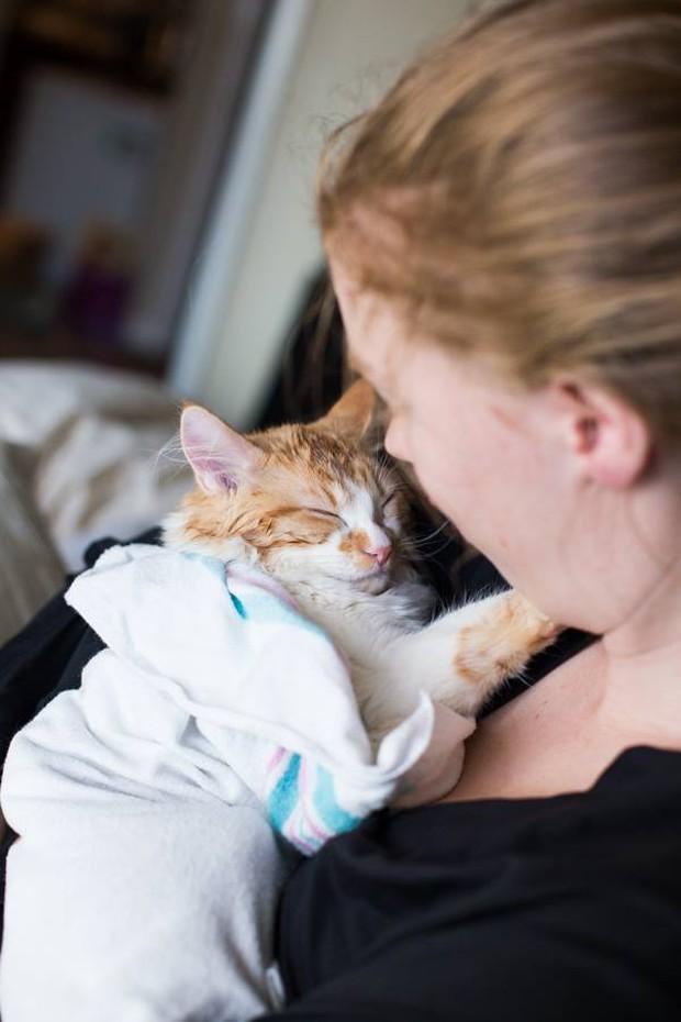 Cặp vợ chồng trẻ gây bão mạng xã hội vì bộ ảnh hạ sinh ra mèo - Ảnh 17.