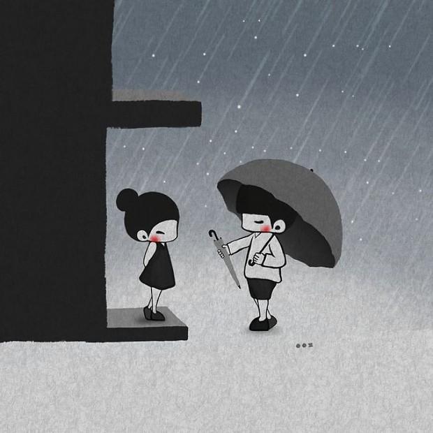 Bộ tranh: Yêu nhau giản đơn thế này thôi nhưng ai mà chẳng thích! - Ảnh 15.