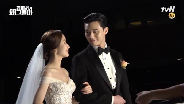Đợi gần một tuần, fan mới được xem hậu trường đám cưới ngọt lịm của Park - Park trong Thư Ký Kim - Ảnh 5.