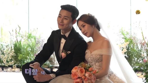 Đợi gần một tuần, fan mới được xem hậu trường đám cưới ngọt lịm của Park - Park trong Thư Ký Kim - Ảnh 6.