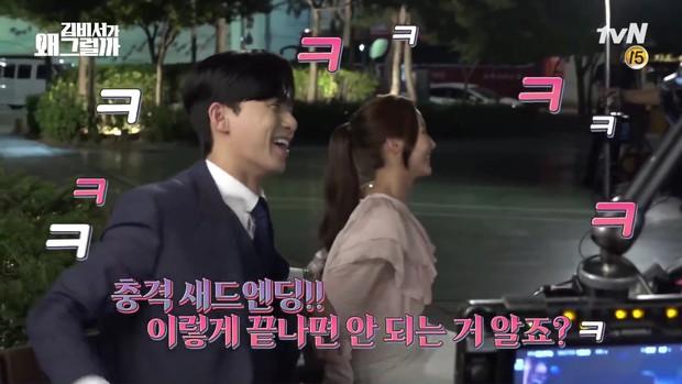 Đợi gần một tuần, fan mới được xem hậu trường đám cưới ngọt lịm của Park - Park trong Thư Ký Kim - Ảnh 10.