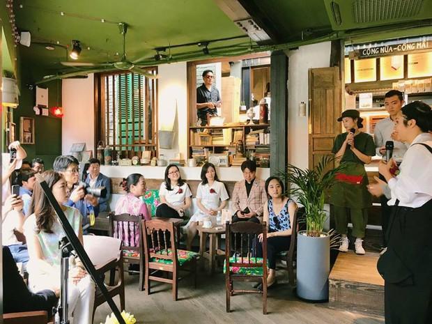 Cộng Cà phê trong ngày khai trương cửa hàng đầu tiên ở Hàn Quốc: Giới trẻ hào hứng xếp hàng dài chờ ghé thử - Ảnh 5.