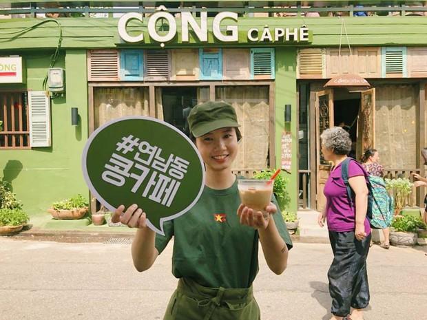 Cộng Cà phê trong ngày khai trương cửa hàng đầu tiên ở Hàn Quốc: Giới trẻ hào hứng xếp hàng dài chờ ghé thử - Ảnh 4.
