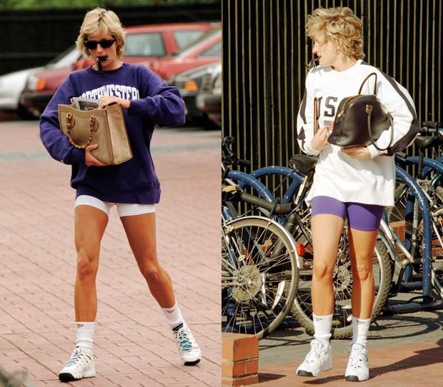 Hóa ra kiểu legging hot nhất 2018 đã được công nương Diana lăng xê từ lâu lắm rồi - Ảnh 1.
