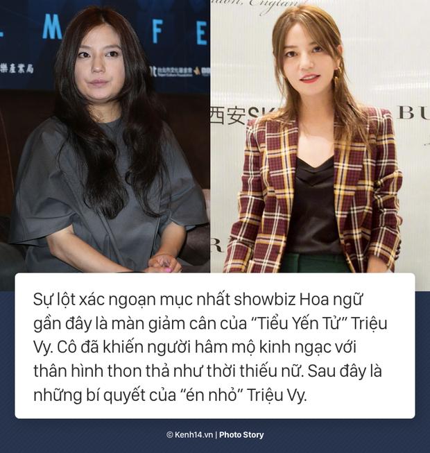 Cùng nghe Triệu Vy tiết lộ về màn giảm cân ngoạn mục nhất Showbiz Hoa ngữ: giảm thần tốc 15kg, lấy lại vóc dáng thời con gái - Ảnh 1.