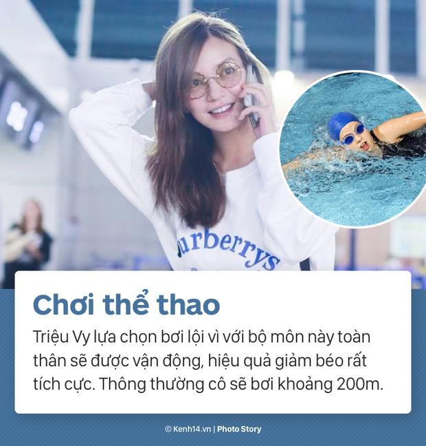 Cùng nghe Triệu Vy tiết lộ về màn giảm cân ngoạn mục nhất Showbiz Hoa ngữ: giảm thần tốc 15kg, lấy lại vóc dáng thời con gái - Ảnh 3.