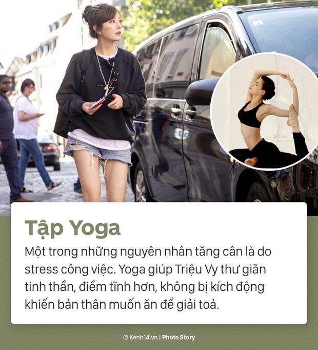 Cùng nghe Triệu Vy tiết lộ về màn giảm cân ngoạn mục nhất Showbiz Hoa ngữ: giảm thần tốc 15kg, lấy lại vóc dáng thời con gái - Ảnh 5.
