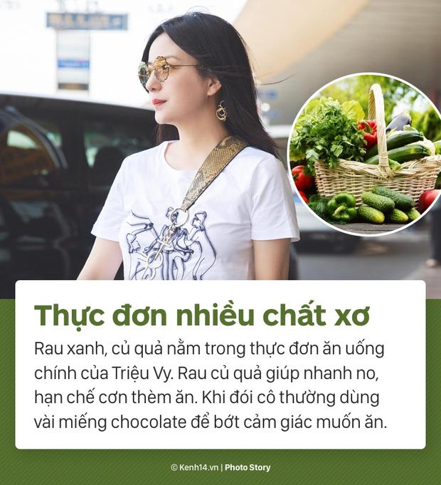 Cùng nghe Triệu Vy tiết lộ về màn giảm cân ngoạn mục nhất Showbiz Hoa ngữ: giảm thần tốc 15kg, lấy lại vóc dáng thời con gái - Ảnh 7.