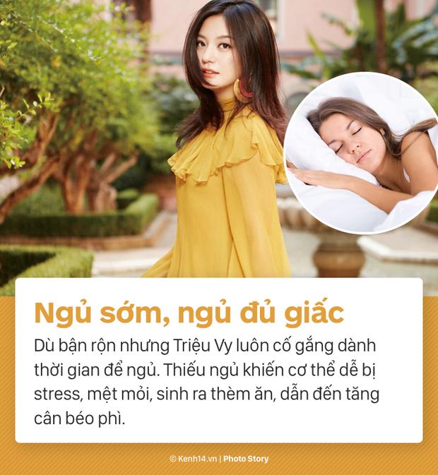 Cùng nghe Triệu Vy tiết lộ về màn giảm cân ngoạn mục nhất Showbiz Hoa ngữ: giảm thần tốc 15kg, lấy lại vóc dáng thời con gái - Ảnh 11.