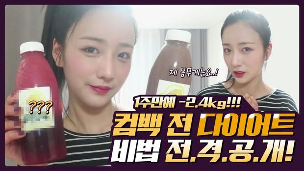 Chi tiết công thức Detox thay thế các bữa ăn hoàn toàn của Bomi (Apink) giúp giảm được 2,4kg chỉ trong 1 tuần - Ảnh 2.