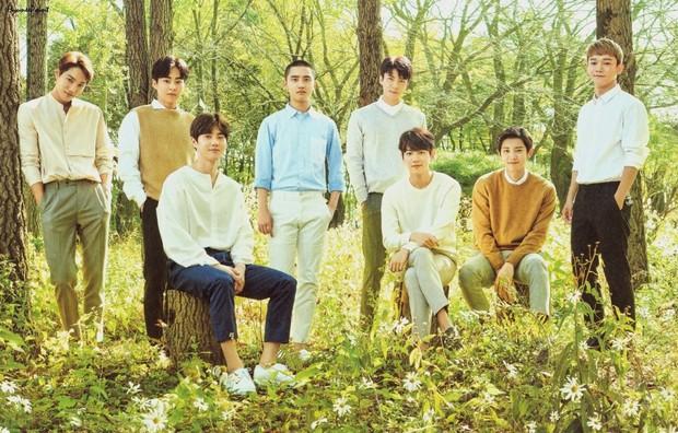 BTS, Wanna One chứng tỏ quyền lực, EXO lại rớt khỏi top 3 vì bị một đàn em vượt mặt trong BXH boygroup hot nhất - Ảnh 4.