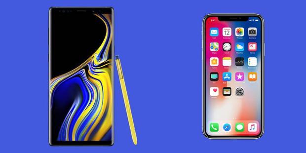 Săm soi 13 điểm hơn thua giữa Galaxy Note 9 và iPhone X dù đều có giá sàn nghìn đô! - Ảnh 1.