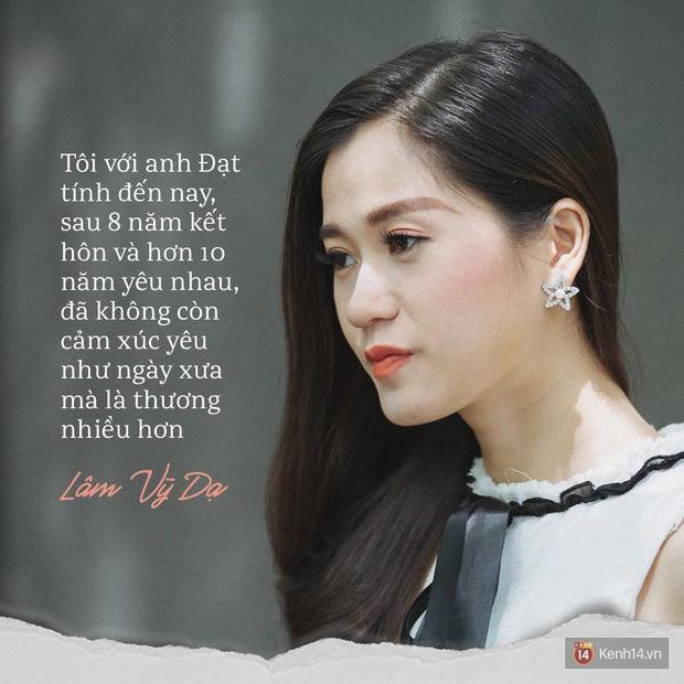 Lâm Vỹ Dạ kể về cuộc hôn nhân với Hứa Minh Đạt: Đôi lúc tôi cũng nản và mệt mỏi lắm! - Ảnh 4.