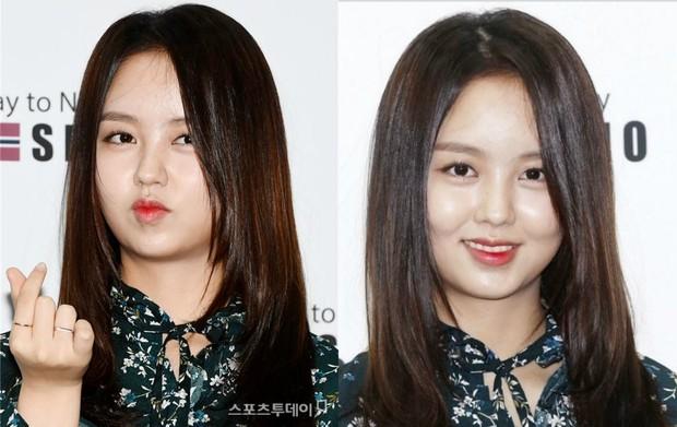 Những màn tuột dốc mỹ nhân Hàn chỉ muốn giấu nhẹm: Kẻ lộ mặt đơ cứng, tường thành bị bóc mẽ photoshop - Ảnh 11.