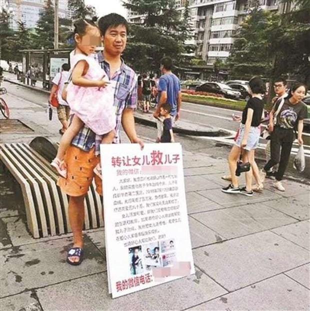 Bán con gái kiếm tiền chữa bệnh cho con trai, cặp vợ chồng bị cư dân mạng lên án chỉ trích dữ dội - Ảnh 1.
