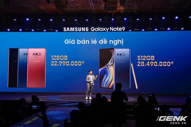 Samsung Galaxy Note9 gây bất ngờ tại Việt Nam với giá tốt hơn dự kiến gần 2 triệu cùng nhiều ưu đãi khủng - Ảnh 1.