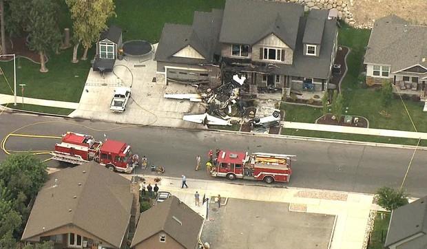 Mỹ: Cãi nhau với vợ, người đàn ông lái máy bay đâm thẳng vào nhà mình - Ảnh 5.