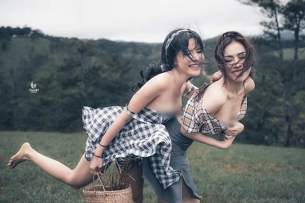 Dân nhiếp ảnh nói về bộ hình khoe thân ở Tuyệt Tình Cốc: Không ủng hộ việc lợi dụng nhiếp ảnh để cho ra những tác phẩm phản cảm - Ảnh 4.