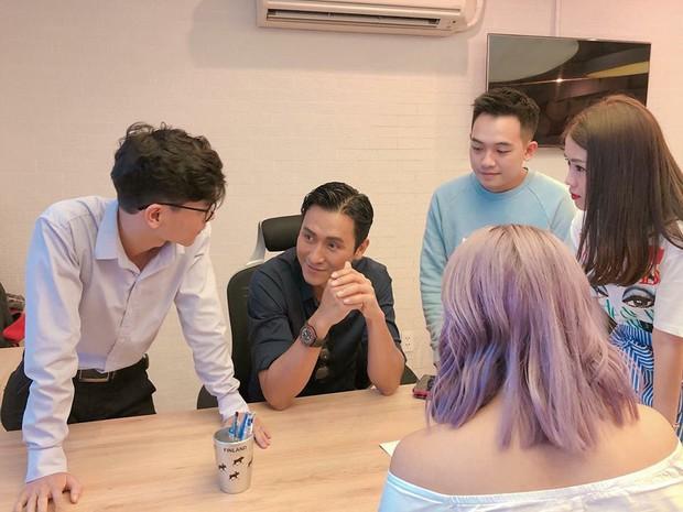 Ngọc Thảo hào hứng chia sẻ khoảnh khắc gặp gỡ Tài tử TVB Mã Đức Chung trong lần thứ 3 đến Việt Nam - Ảnh 4.