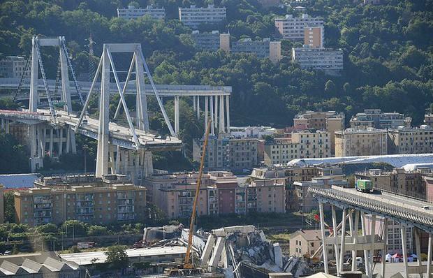 Công ty bảo trì cây cầu vừa bị sập ở Italia có thể bị phạt đến 150 triệu euro - Ảnh 1.