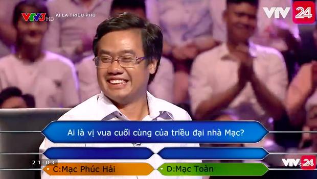 Người chơi số nhọ nhất Ai là triệu phú: Dùng hết cả 4 sự trợ giúp cho một câu hỏi nhưng vẫn trả lời sai - Ảnh 5.