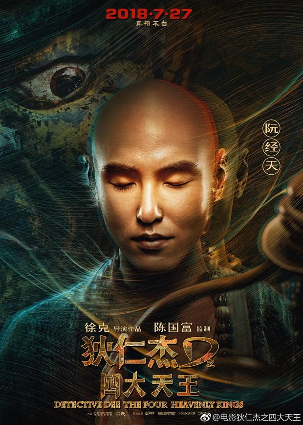 Choáng với dàn sao khủng cùng xuất hiện trong Địch Nhân Kiệt: Tứ Đại Thiên Vương - Ảnh 7.