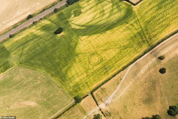 Đợt nắng nóng lịch sử ở Anh làm xuất hiện 1.500 di tích lịch sử chưa từng biết đến - Ảnh 7.