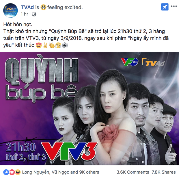 Quỳnh Búp Bê trở lại khi Ngày Ấy Mình Đã Yêu kết thúc trên VTV3 - Ảnh 2.