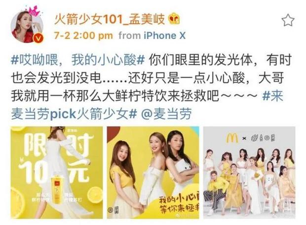 Toàn cảnh vụ lùm xùm đi để trở về của 2 cô gái dẫn đầu nhóm nữ chiến thắng Produce 101 Trung Quốc - Ảnh 6.