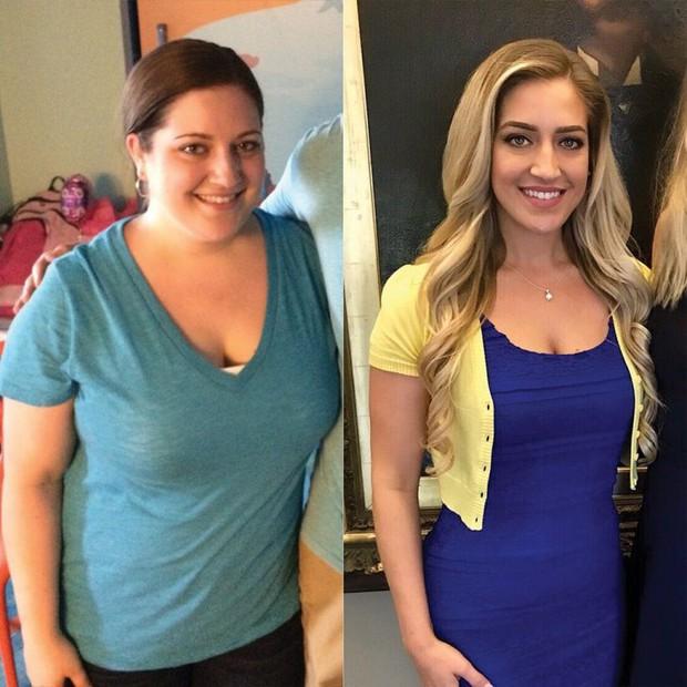 Nhờ áp dụng theo chế độ ăn kiêng đặc biệt mà cô gái này đã giảm tới 27kg một cách thần kỳ - Ảnh 1.