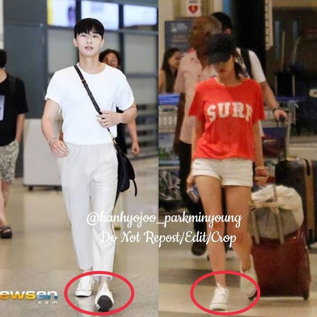 Đã đi du lịch, Park Min Young và Park Seo Joon còn diện đồ đôi và chụp hình cho nhau? - Ảnh 7.