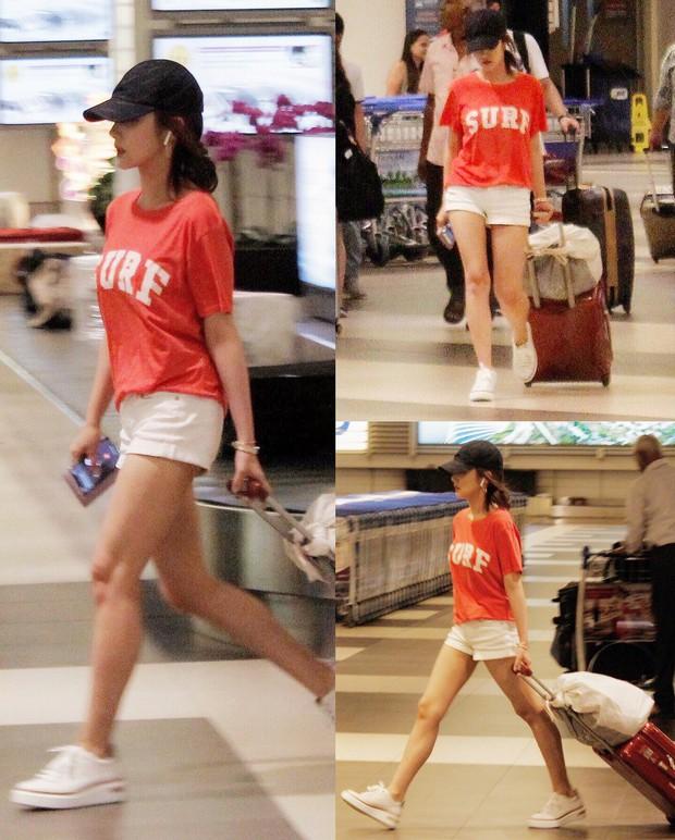 Đã đi du lịch, Park Min Young và Park Seo Joon còn diện đồ đôi và chụp hình cho nhau? - Ảnh 4.