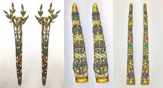 Những loại phục sức thể hiện đẳng cấp cao quý của các phi tần trong triều đình nhà Thanh - Ảnh 10.