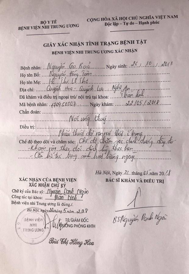 Tiếng khóc thương tâm của bé trai 10 tháng tuổi mắc bệnh não úng thủy ở Nghệ An - Ảnh 3.