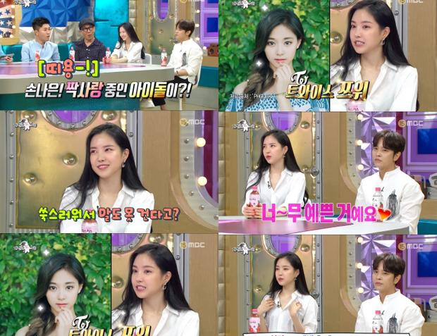 Thảm họa thẩm mỹ mới Naeun lại tiếp tục gây sốc vì tỏ tình với một... nữ thần Kpop trên sóng truyền hình - Ảnh 1.