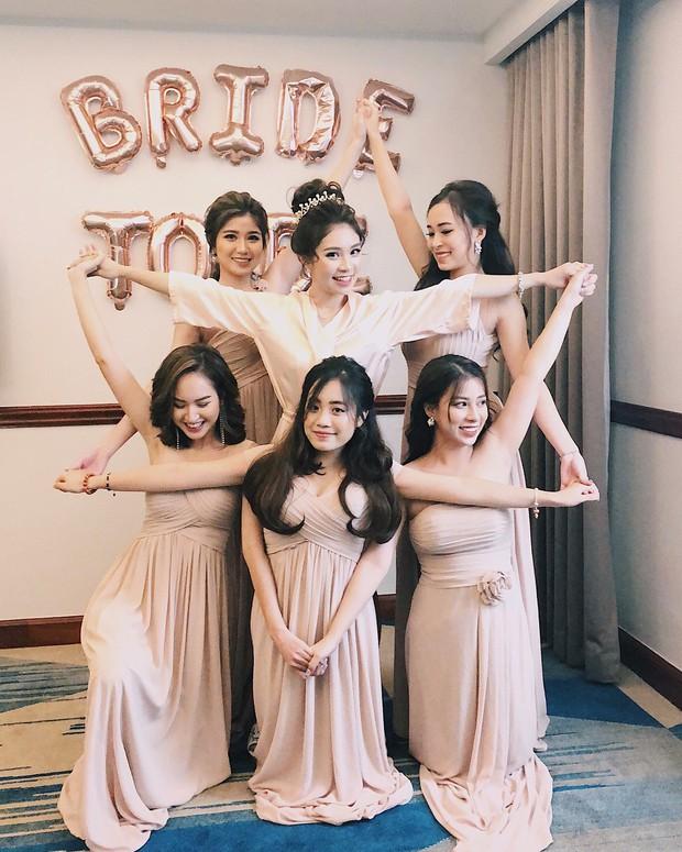 Loá mắt với biệt đội phù dâu toàn hot girl xinh đẹp có cả An Japan, Nguyễn Lê Vi - Ảnh 2.