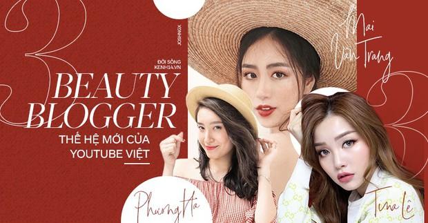 3 nàng beauty blogger mới toanh đang gây bão trên Youtube Việt vì xinh đẹp không thua hot girl  - Ảnh 1.