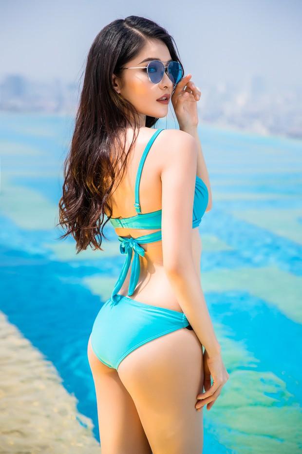 Diện áo tắm gợi cảm, Top 3 Hoa hậu Việt Nam 2016 cùng thả dáng khoe hình thể nóng bỏng  - Ảnh 6.