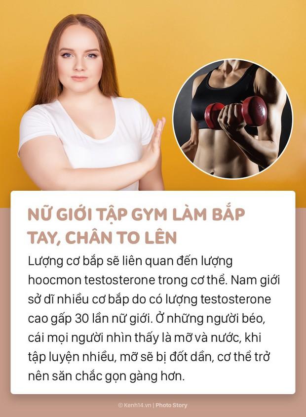 Để giảm cân và có vóc dáng đẹp hãy tránh những hiểu lầm sau về gym và tập luyện - Ảnh 1.
