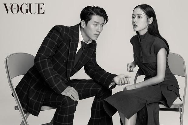 Khi cực phẩm nhan sắc Son Ye Jin và Hyun Bin chụp hình tạp chí đẹp đến mức... biến cả Jung Hae In thành bạch tuộc - Ảnh 1.