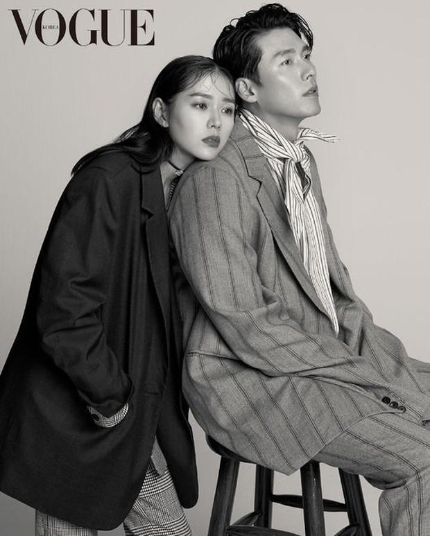Khi cực phẩm nhan sắc Son Ye Jin và Hyun Bin chụp hình tạp chí đẹp đến mức... biến cả Jung Hae In thành bạch tuộc - Ảnh 2.