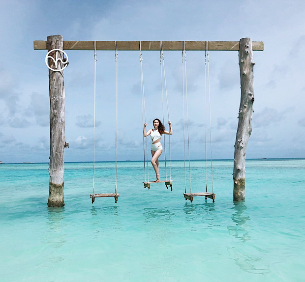 Giữa nghi vấn sắp lên xe hoa, Bảo Thy khoe body nóng bỏng trong loạt ảnh du lịch ở thiên đường Maldives - Ảnh 7.